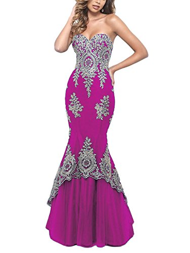Beaded Jersey Gown - 5