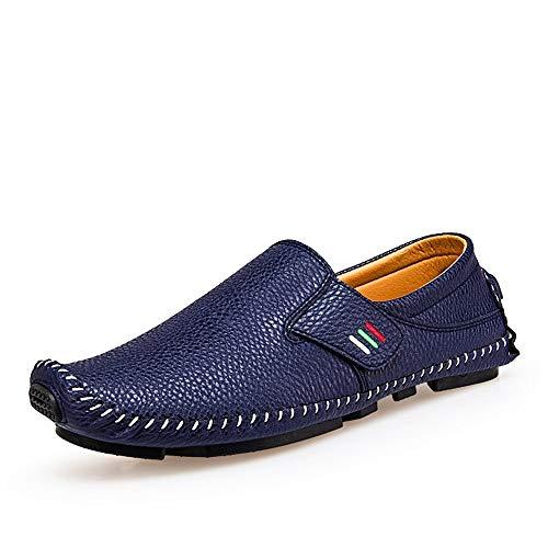 Bleu 41.5 EU SRY-chaussures , Mocassins pour Homme
