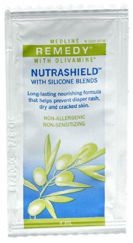 (Medline Remedy Olivamine Nutrashield Skin Protectant, 0.135 Fl Oz, 144 Count )
