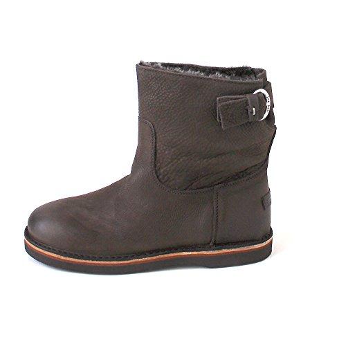 Shabbies Amsterdam 181020053 Womens Booties Braun (Dark Brown/Waxed Grain Leather) sL5oTRKsG