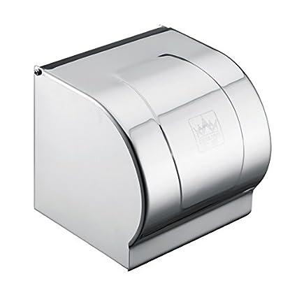 Renovatsh Acero Inoxidable Caja Toalla de Papel higiénico Papel Higiénico Toallas de Papel Cuadro Engrosamiento,