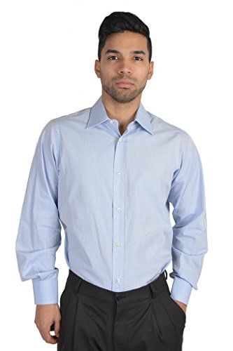[Dolce & Gabbana Long Sleeve Dress Shirt US 15.5 IT 39 Blue] (Dolce & Gabbana Long Sleeve Dress Shirt)