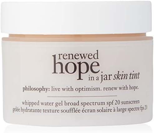 Philosophy Renewed Hope in a Jar Skin Tint Spf 20, 5.5 Beige for Women, 1 Ounce