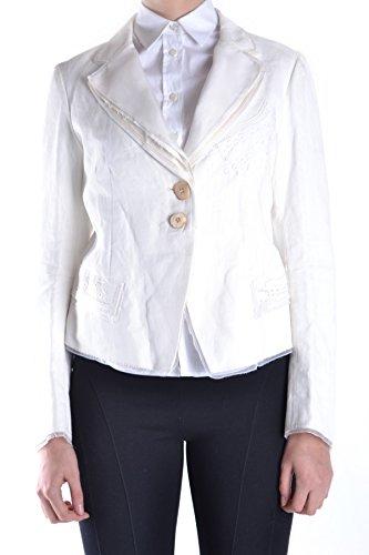 - MARITHÈ + FRANÇOIS GIRBAUD Women's Mcbi200002o White Cotton Jacket