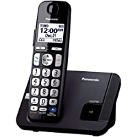 Panasonic KX-TGE210B DECT 6.0 Plus 1.9GHz 1 Handset Expandable Cordless Phone /Color: Black