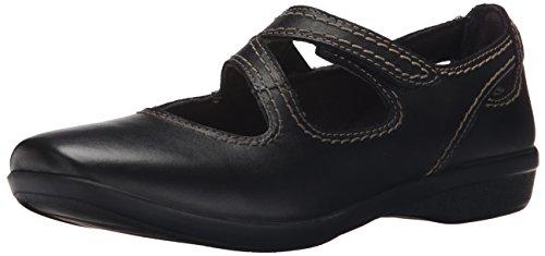 Shopping Product  Q Black Flat Mary Jane Shoes