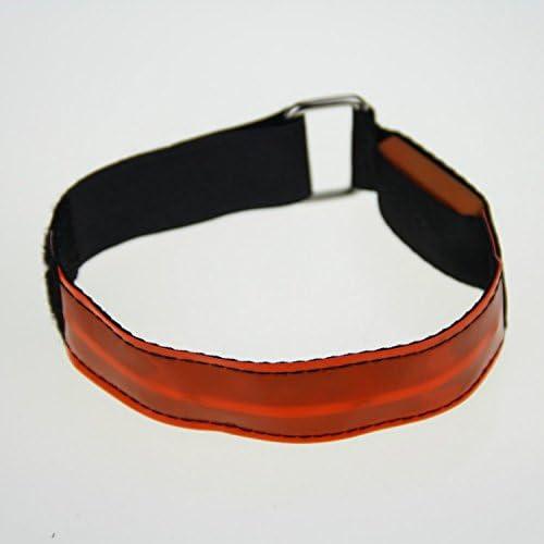 Xinhenchen High Visibility Running Cycling Adjustable Reflective LED Flashing Fabric Armband