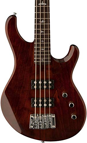 (PRS Paul Reed Smith SE Kingfisher 4-String Bass Guitar with Gig Bag, Tortoise Shell)