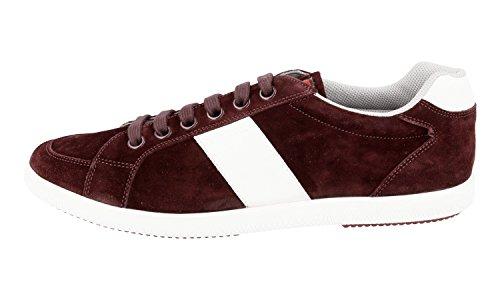 Prada Heren 4e2845 054 F0007 Lederen Sneaker