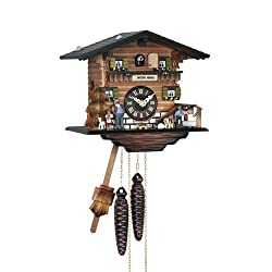 Quartz Cuckoo Clock with Music and Heidi Design, 8 Inch