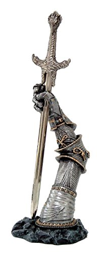 Pacific Giftware Legendary Sword of King Arthur Excalibur Letter Opener Desktop Decor 10 Inch Tall