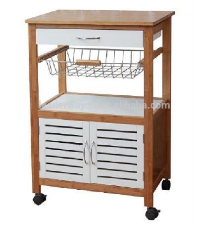 Carrito de cocina carrito de comedor de isla encimera cesta armario con ruedas: Amazon.es: Hogar