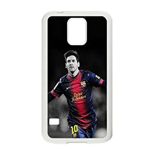 Custom FC Barcelona Lionel Messi Phone Case Laser Technology Protective Case 22 For Samsung Galaxy S5 At ERZHOU Tech Store