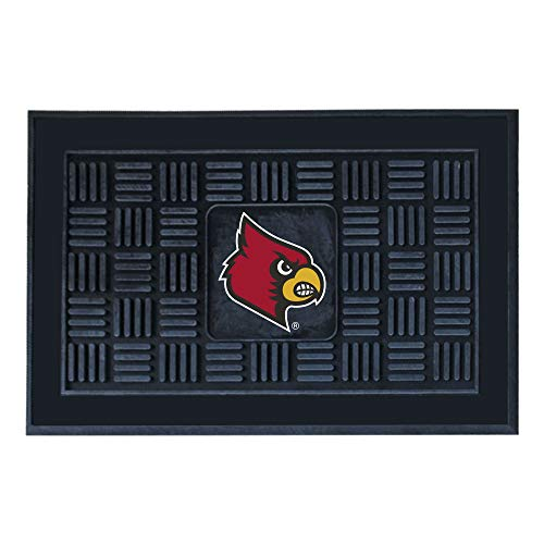 - FANMATS NCAA University of Louisville Cardinals Vinyl Door Mat