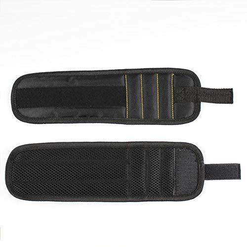 Polsino cinturino Nero Kit 1pz magnetico lavoro da cinturino Black da archiviare con polso per rYCrwZ