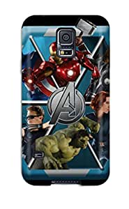 Galaxy S5 Case Cover Skin : Premium High Quality Avengers Case