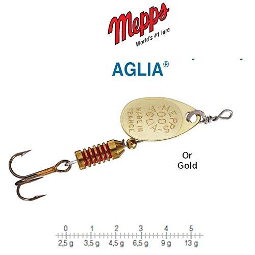 /à l/'unit/é Mepps Aglia Or Taille n/°1