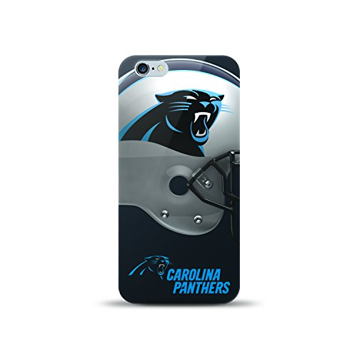 Mizco NFL-HL6P-PNTH Sports Helmet Series Tpu Case Nfl Carolina Panthers, Compatible with IPhone 6S Plus