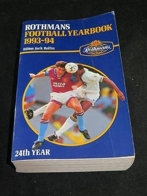 Rothmans Football Yearbook 1993-94