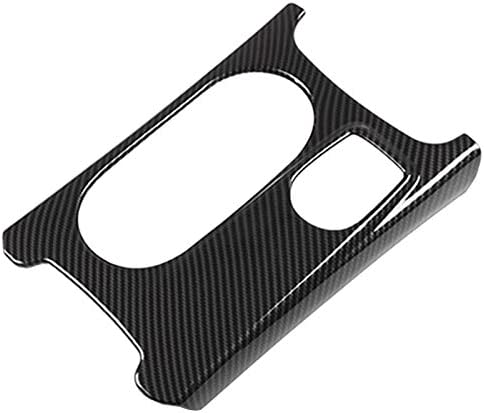 Tmand RHD for Mercedes A//GLA//CLA Class C117 W117 W176 X156 2012-17 AMG Car Carbon ABS Chrome Cup Holder Cover Trim Car Decoration Accessories