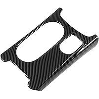 SODIAL RHD for Mercedes A/GLA/CLA Class C117 W117 W176 X156 2012-17 AMG Car Carbon ABS Chrome Cup Holder Cover Trim Car Decoration Accessories
