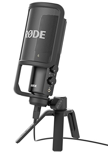 2. Rode NT-USB Versatile Studio-Quality USB Streaming Microphone