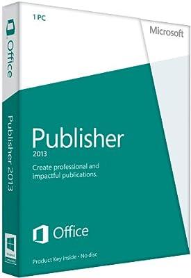 Microsoft Publisher 2013 (1PC/1User)