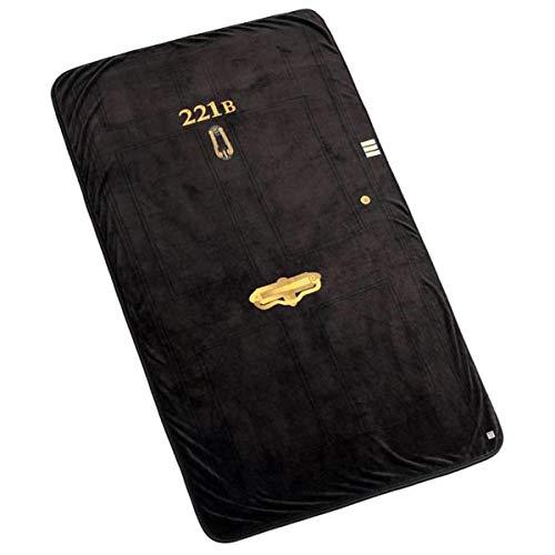"Price comparison product image BBC Sherlock 221B Baker Street Door Frame Huge Oversize Warm 50x85"" Throw Blanket"