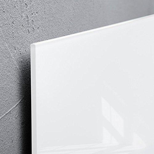 Magnettafel Artverum weitere Gr/ö/ßen//Farben SIGEL GL146 Glas-Magnetboard 91 x 46 cm super-wei/ß