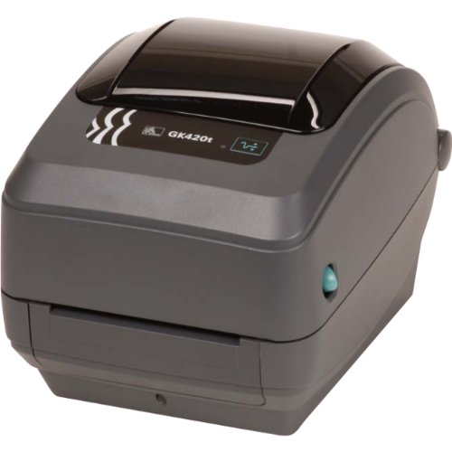 Zebra Gk420t Thermal Transfer Printer - Monochrome - Desktop - Label Print - 4.09 Print Width - GK42-102211-000 by Zebra Technologies (Image #1)