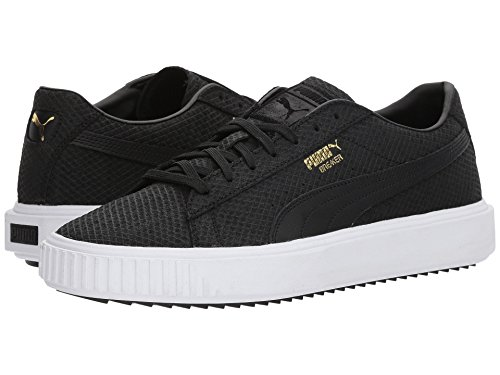 [PUMA(プーマ)] メンズランニングシューズ?スニーカー?靴 Puma Breaker Suede PUMA Black 8.5 (26.5cm) D - Medium