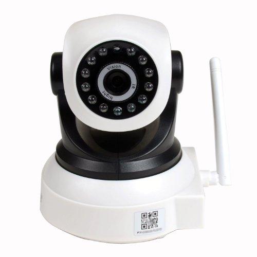 VideoSecu IPP105W Wireless IP Pan Tilt Day Night Vision