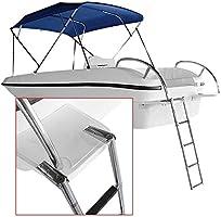 Escalera extensible/ Escalera telescópica Escalera telescópica para Barcos Acero Inoxidable 2/3/4 para yate Marino/Piscina (Tamaño : 4 Step): Amazon.es: Hogar