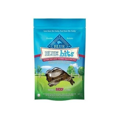 Blue Buffalo Blue Bits Beef Dog Training Treats, 8 oz. (Blue Bits Tender Beef Recipe)