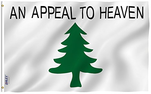 Anley Fly Breeze 3x5 Foot An Appeal To Heaven Flag - Vivid C