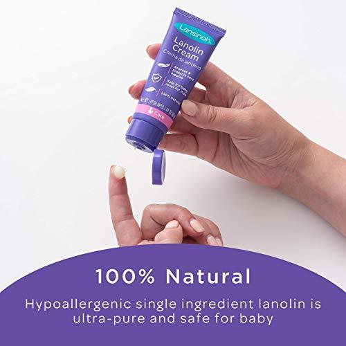 Lansinoh Lanolin Nipple Cream for Breastfeeding, 1.41 Ounce Full Size Tube, Soothing Lanolin Balm, Safe for Nursing Moms, Nursing Essentials
