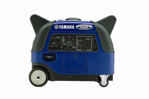 Price comparison product image Yamaha EF3000iSEB, 2800 Running Watts/3500 Starting Watts, Gas Powered Portable Inverter