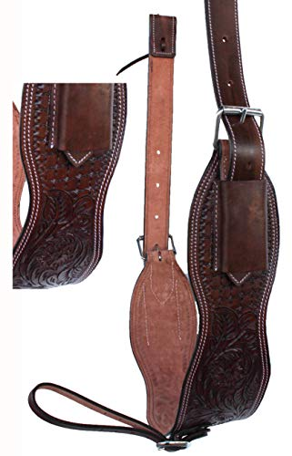 Used, CHALLENGER Horse Western Floral Tooled Leather Rear for sale  Delivered anywhere in USA