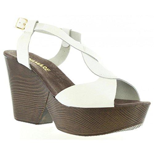 Maria Mare Sandalen Für Damen 65893 C6811 VAQUET Blanco Schuhgröße 39