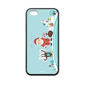 Custom Christmas Back Cover Case for iphone 5C JN5C-211