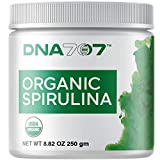 DNA707 Organic Spirulina Powder - Organically Grown and Sustainably Harvested Non-GMO