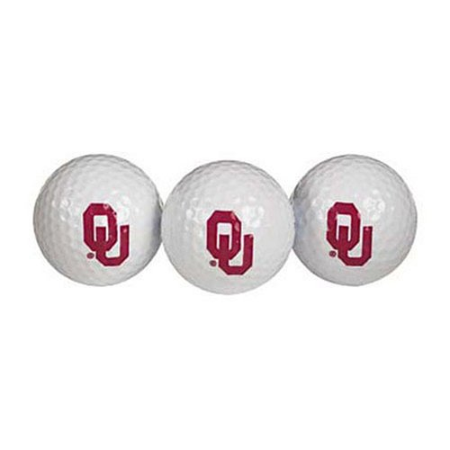 Team Effort Oklahoma Sooners Golf Ball 3 Pack ()