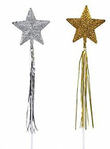Star Wand Magic (Rhode Island Novelty Glitter Star Wands (1 dz))