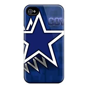 For Iphone Case, High Quality Dallas Cowboys For Iphone 4/4s Cover Cases