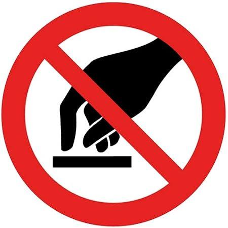 intratec prohibición de Caracteres Prohibido Tocar Seguridad ...