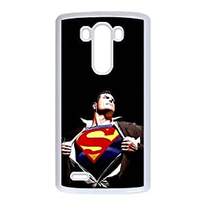LG G3 phone cases White Superman Phone cover PQS5166670