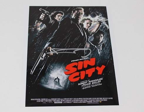 Sin City Frank Miller Hand Signed Autographed 8x10 Poster Photo Loa (Sin City 1 And 2 Blu Ray)