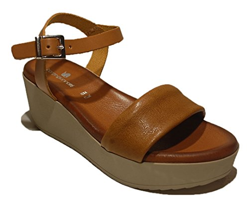 BORGO GIANNOTTI - Sandalias de vestir de Material Sintético para mujer Marrón marrón Media marrón