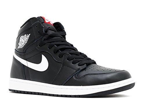 Nike Air Jordan 1 Retro High OG Black/White Mens Basketball Shoes Size 12