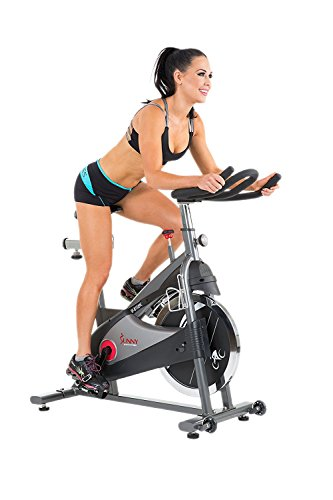 Sunny Health & Fitness SF-B1509C Chain Drive Premium Indoor Cycling Exercise Bike, - Outlet San Francisco Premium